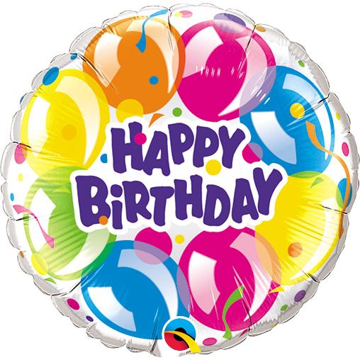 Birthday Sparkling Balloons (9 Inch)