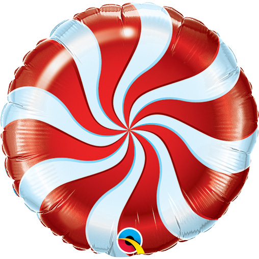 Candy Swirl Red (9 Inch)
