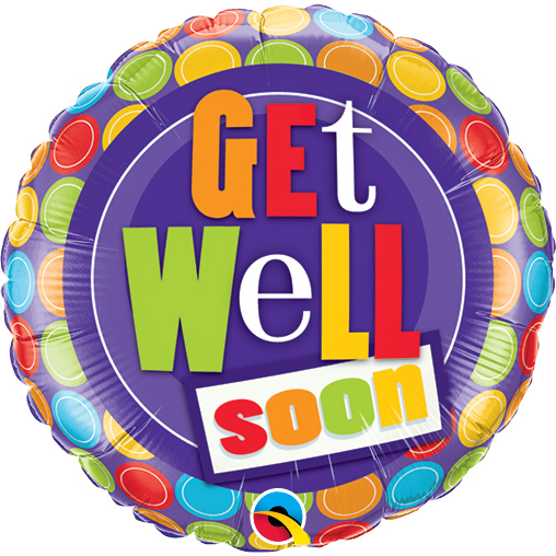 Get Well Dot Patterns (9 Inch)