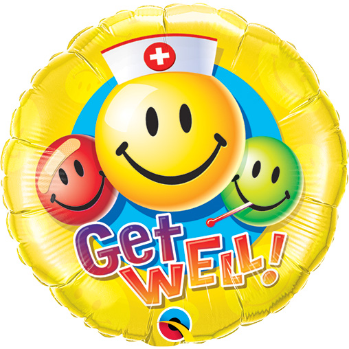 Get Well Smileys (9 Inch)