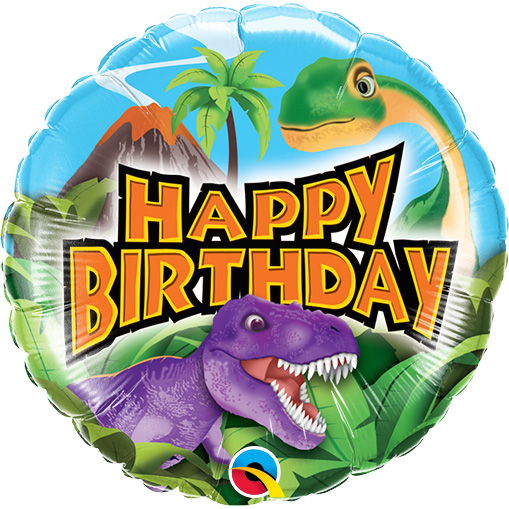 Happy Birthday Dinosaurs (9 Inch)