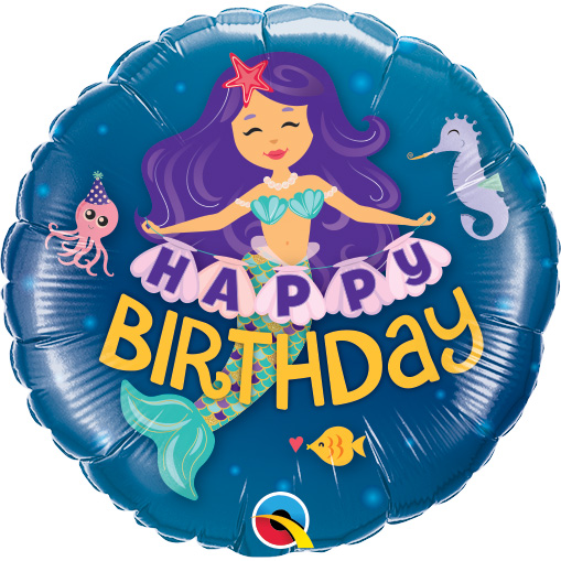Happy Birthday Mermaid (9 Inch)