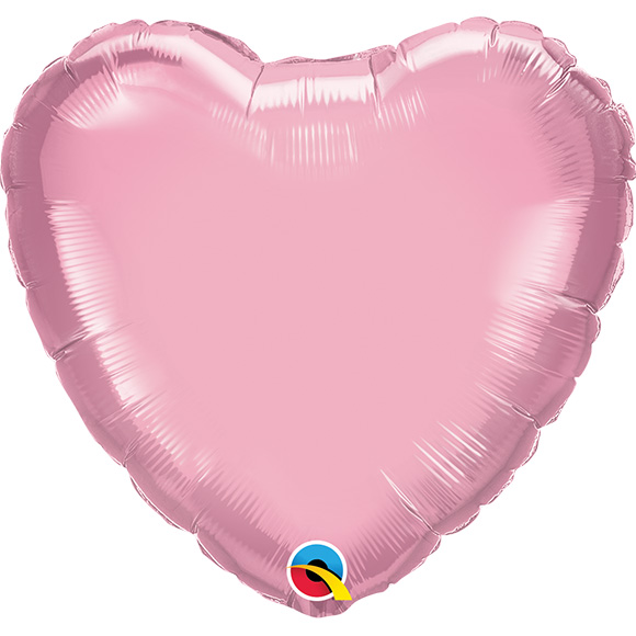 Heart Pearl Pink (9 Inch)