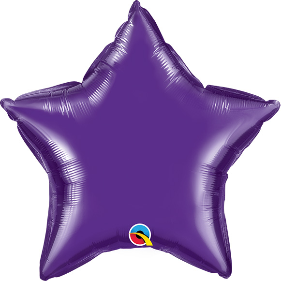 Quartz Purple Star (9 Inch)