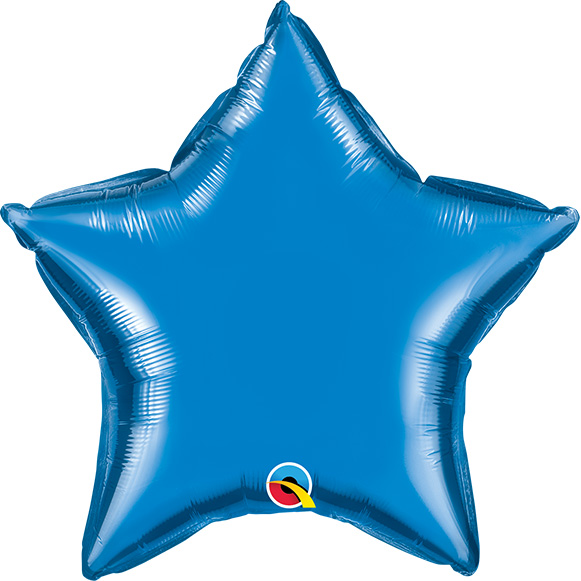 Sapphire Blue (9 Inch) Star