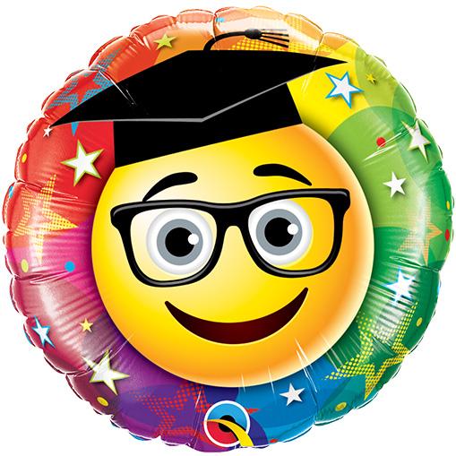 Smiley Graduate (9 Inch)